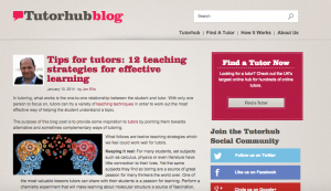 Tips for tutors